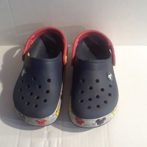 Toddler Mickey Mouse Crocs
